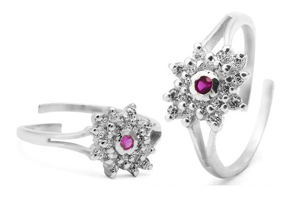 Silver Toe Rings - www.manglamjewellers.com