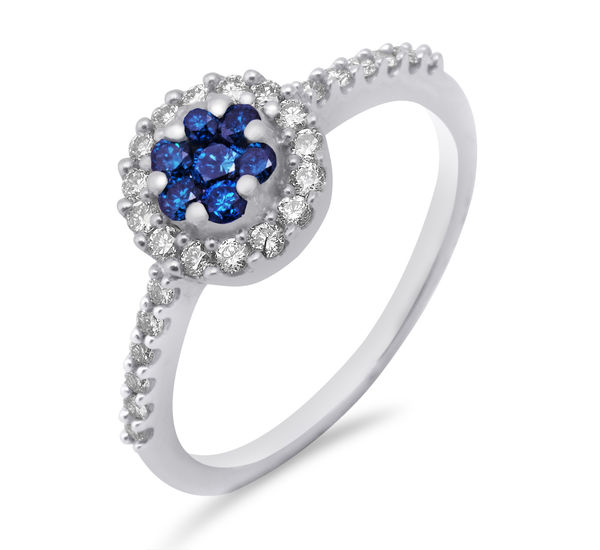 Diamond Ring-Manglamjewellers
