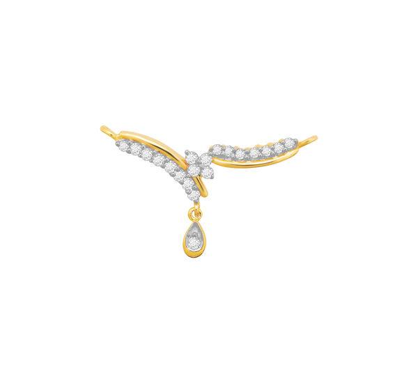 Diamond Mangalsutra- Manglam Jewellers