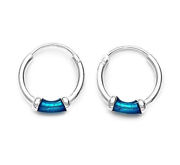 Silver-earring-enamel-hoopearrings.