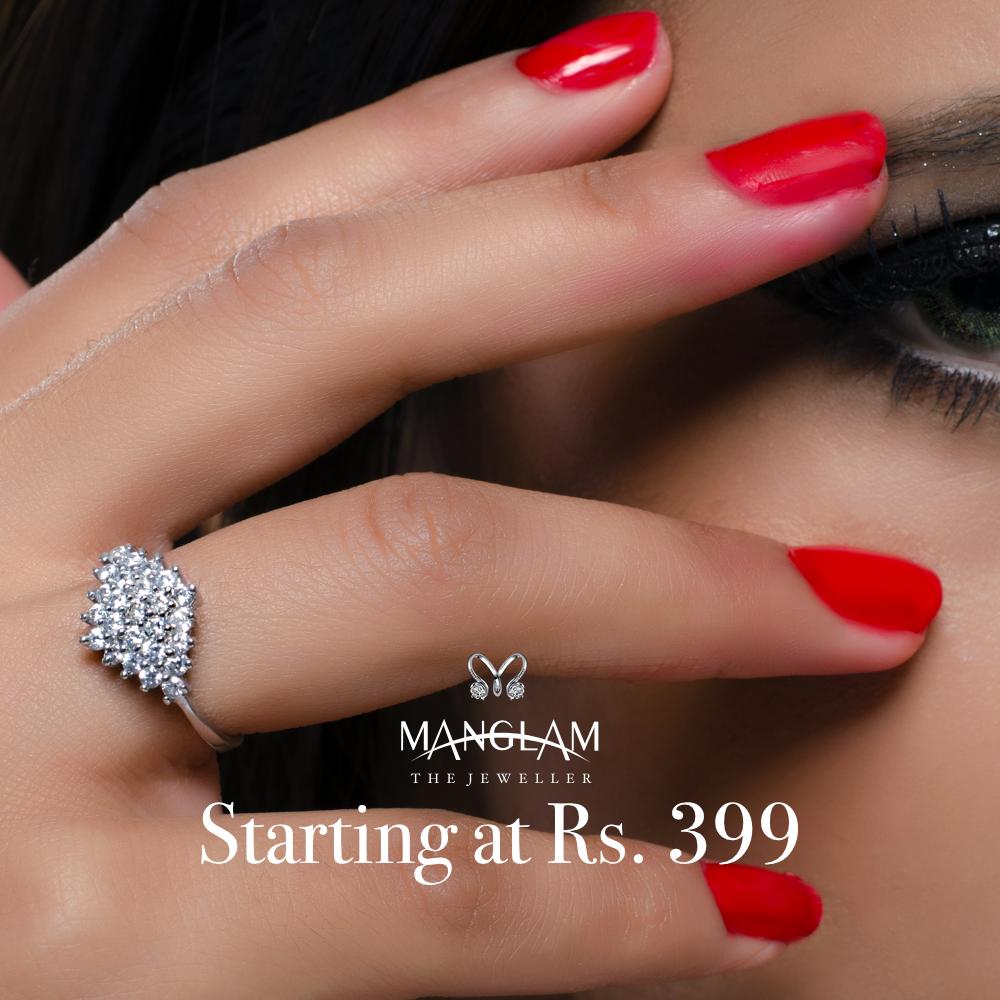 MManglam jewellers silverrings